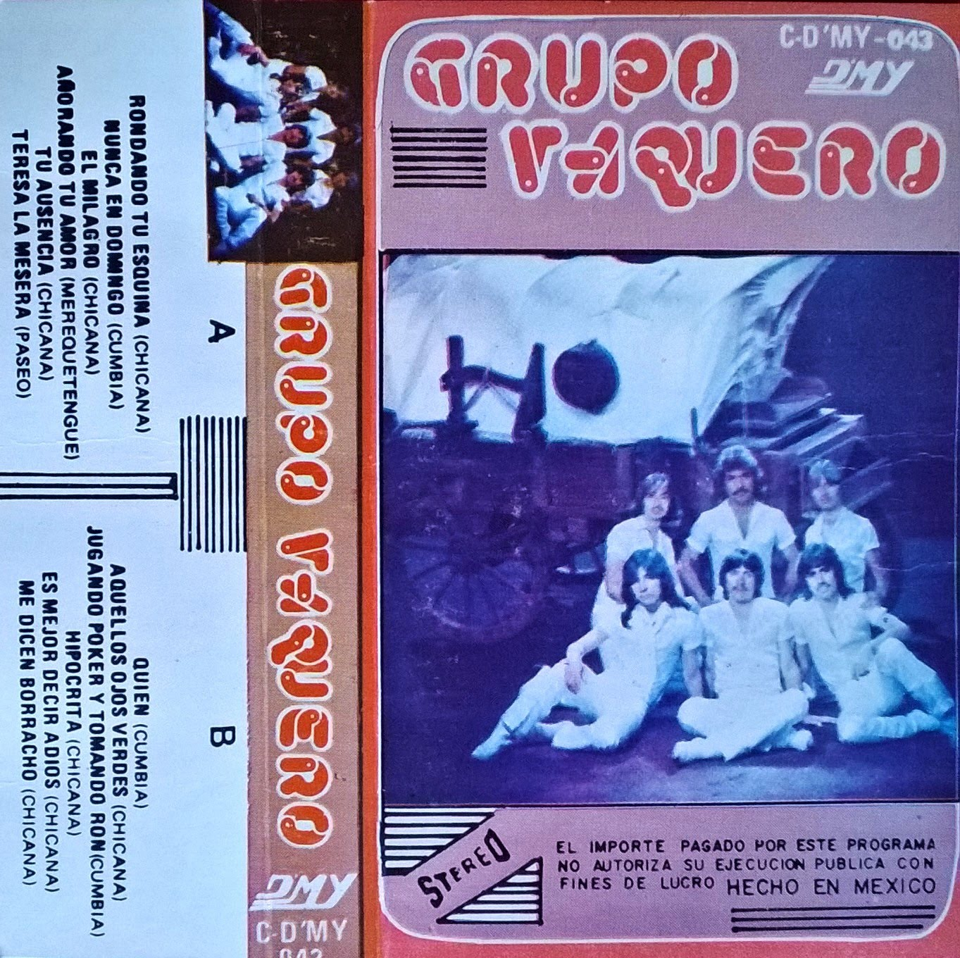 grupo vaquero album rondando tu esquina 1985